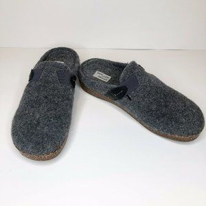 Earth Origins Jenna Gray Clogs casual wool style